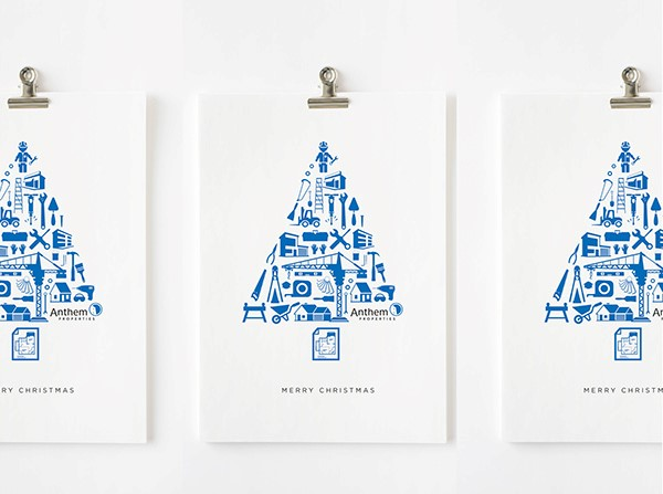 Corporate Christmas Card Designs