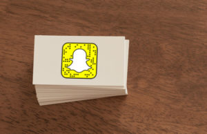 Snapchat Snapcodes Business Cards